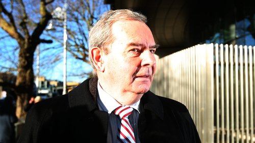 The unwinding of Seán Quinn's stake in Anglo Irish Bank is at the centre of the case