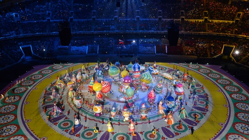 Peter Canning was associate lighting designer for the opening and closing ceremonies at Sochi