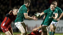 Eddie O'Sullivan gives his reaction to the Irish U20's loss to Wales