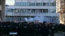 At least 100 people injured in protest across Bosnia