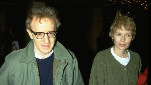 Woody Allen and Mia Farrow acrimoniously split in 1992