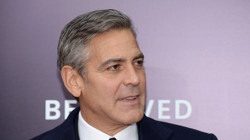 Clooney: ''Somebody made it like there was a big fight""