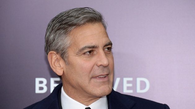 Clooney: ''Somebody made it like there was a big fight