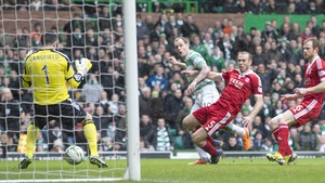 Anthony Stokes put Celtic ahead early on