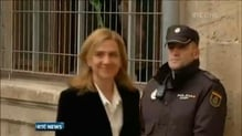 Spain's Princess Christina appears in court