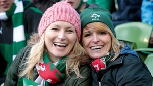 Ireland and Wales fans enjoy a bracing February afternoon