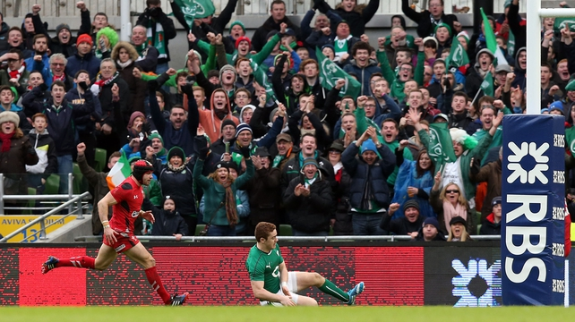 Paddy Jackson crossed the line late on put the icing on the cake