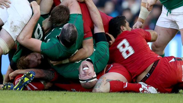 Paul O'Connell's defence was first rate against Wales