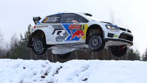 Latvala entered the final day with a slender advantage over team-mate Andreas Mikkelsen