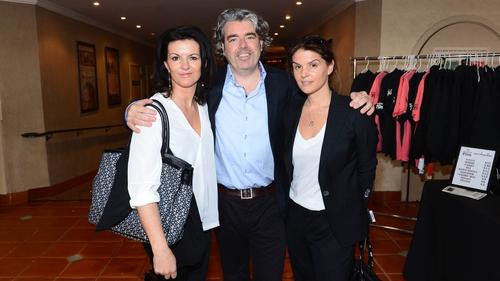 Deirdre O'Kane, writer and director Stephen Bradley and producer Melanie Gore-Grimes