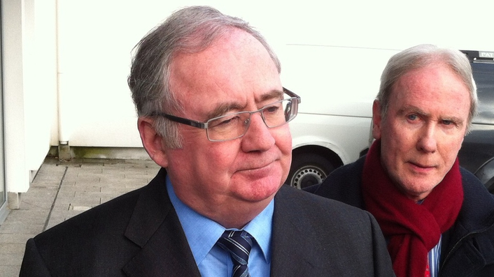 Minister Pat Rabbitte ahead of the Labour Party Conference