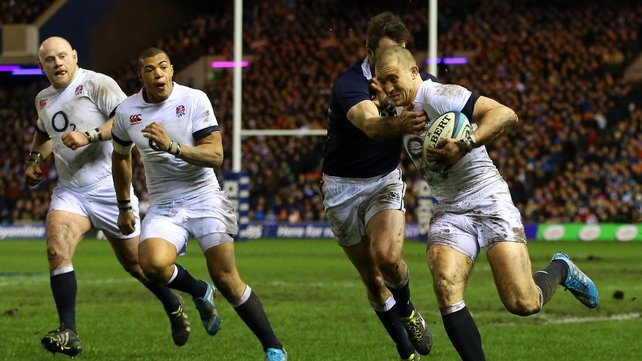 Mike Brown has been in exceptionally fine form for England in the first two rounds of the championship