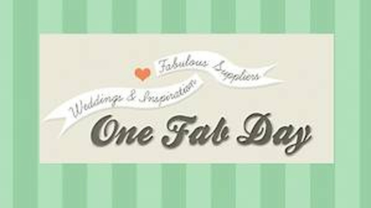 OneFabDay.com - Wedding Website