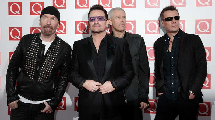 U2 set to perform in Ireland