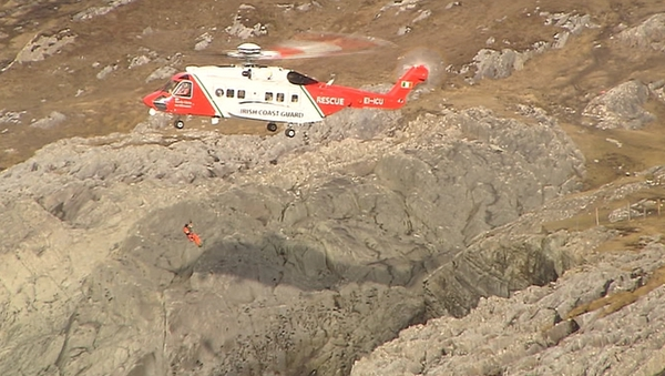 A rescue helicopter has been involved in the search since early this morning