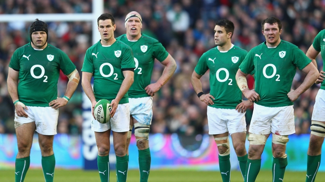 Jonathan Sexton and Ireland are two wins from two in the 2014 Six Nations