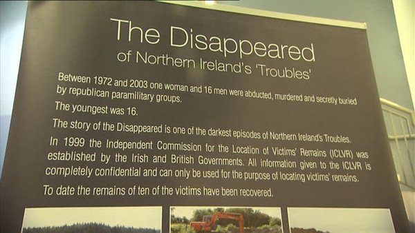 17 people were abducted, murdered and secretly buried by the IRA during the Troubles