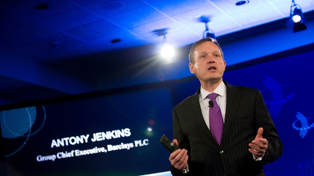 Barclays CEO Antony Jenkins says today's fine 'strengthens bank's resolve to improve'
