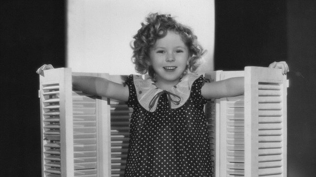 Shirley Temple pictured in 1934