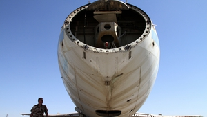 It has been sitting ideal at the airport for almost 40 years (Pic: EPA)