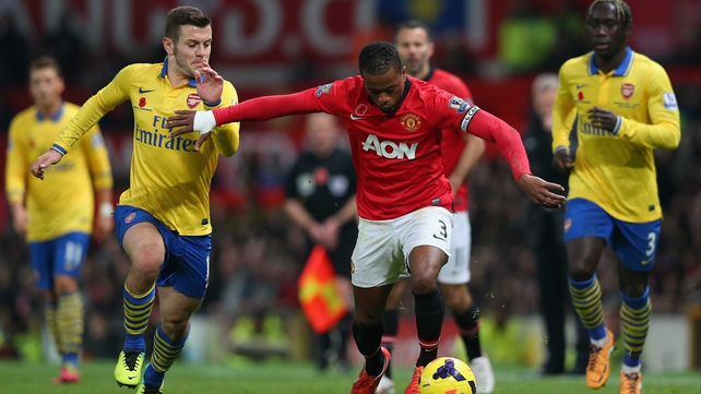 Arsenal and Manchester United meet following disappointing results over the weekend