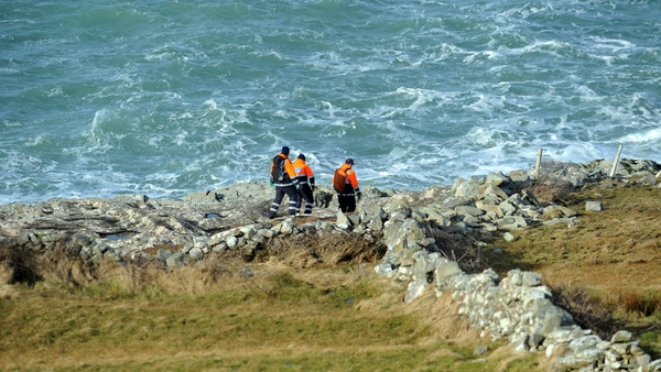 Up to 50 members of the Coast Guard are involved in the search (Pic: EPA)