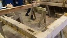 Work begins on replica Viking house