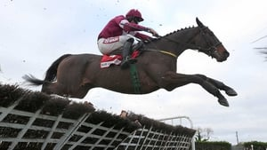 Davy Russell on Very Wood at Fairyhouse in December