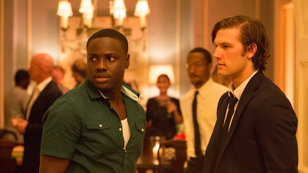 Dayo Okeniyi injects some welcome relief as David's best pal Mace