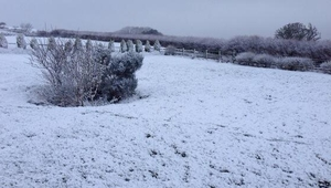 Weather conditions in Inishowen (Pic: Trish Hegarty)