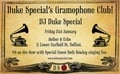 The Duke Special Gramophone Club