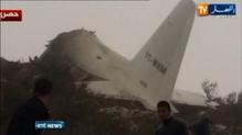 Over 70 dead following Algerian plane crash