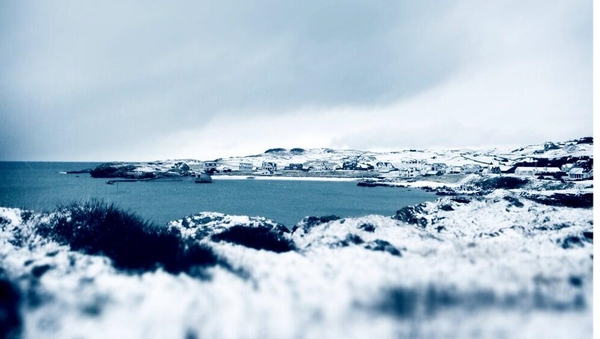 Temperatures are expected to fall below zero in parts of the country overnight (Pic: Nero Barnes, Portnablagh, Co Donegal)