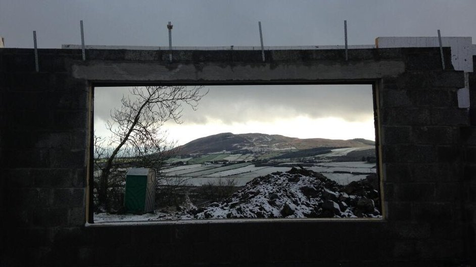 Snow at the Cooley Peninsula (Pic: Ciaran Magee)