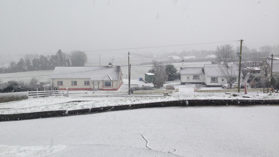 Donegal this morning (Pic: Aoife Flanagan)