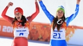 Olympic history as Gisin & Maza share gold