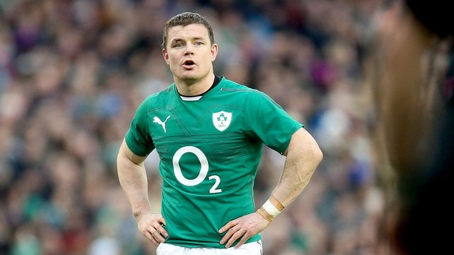 Celebrate Brian O'Driscoll's career with O2 and Game On on RTÉ 2fm