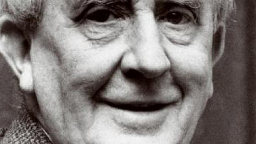 JRR Tolkien, author of The Hobbit and Lord of the Rings