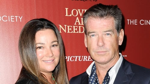Pierce Brosnan and his wife Keely Shaye Smith