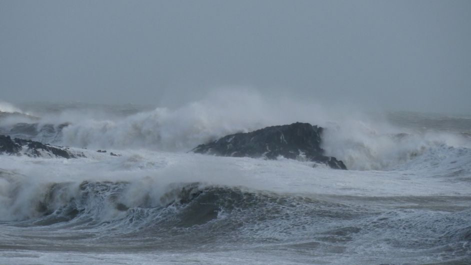 Stormy waters off Ballycotton (Pic: Ber Higgins)