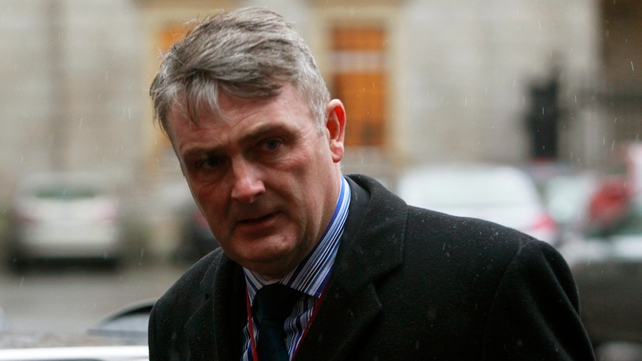 Simon O'Brien said he has no idea whether his organisation is still under surveillance