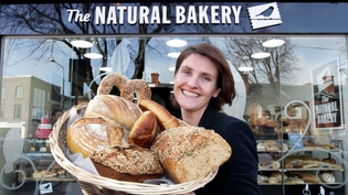 Anna Nolan officially opens The Natural Bakery