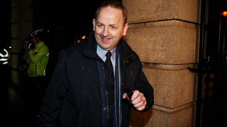 Mr Shatter's resignation controversy over allegations by Garda whistleblowers Maurice McCabe (pictured) and John Wilson