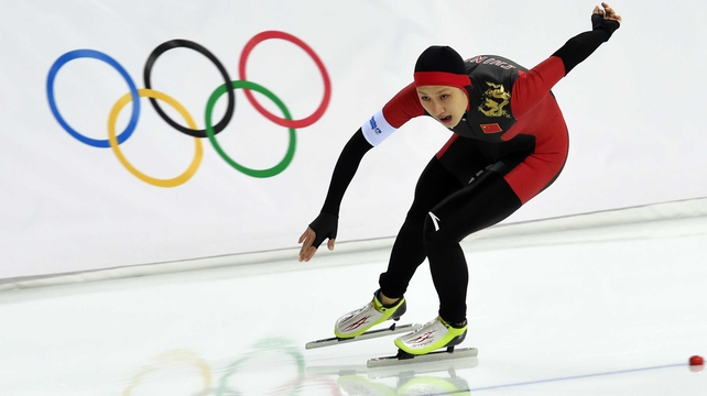 Zhang Hong shocked the Adler Arena by claiming gold in the women's 1,000 metres speed skating