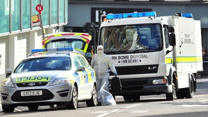 Bomb disposal units were called to deal with the suspected packages
