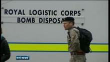 Suspect packages sent to British army originated in Ireland