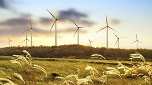 About 20% of Ireland's electricity comes from renewable sources, such as wind power