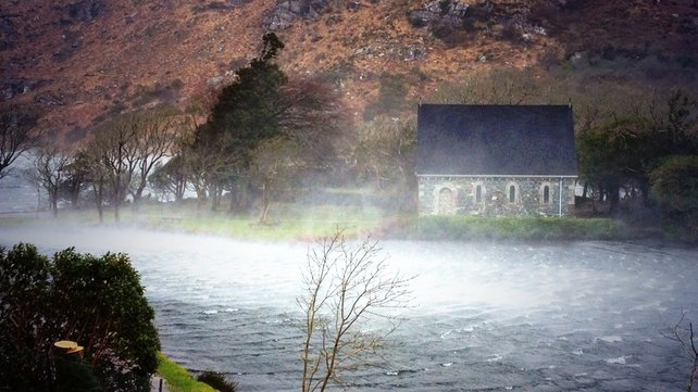 A storm brewing in Gougane Barra, Co Cork (Pic: Neil Lucey)