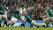 Brad Barritt in action for England against Ireland at Twickenham back in 2012