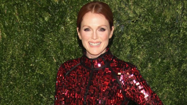 Julianne Moore says that her kids know how lucky they are